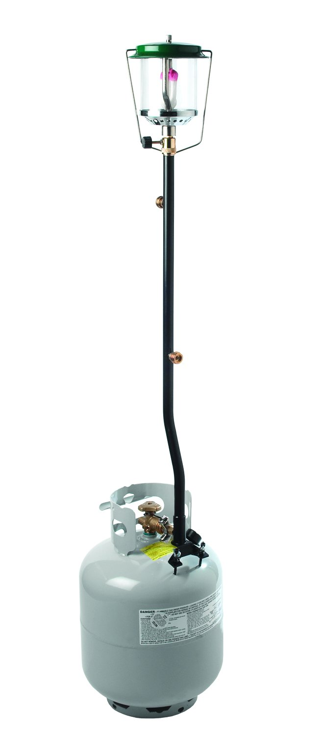 Texsport 2 Piece Propane Distribution Tree with Outlets to hook up 3 Propane Appliances to One Tank