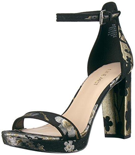 Nine West Women's Dempsey Parent Fabric Heeled Sandal B06XSMTT4T Parent Dempsey f4914b