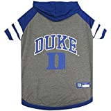 Duke Blue Devils Pet Hoodie T-Shirt - X-Small