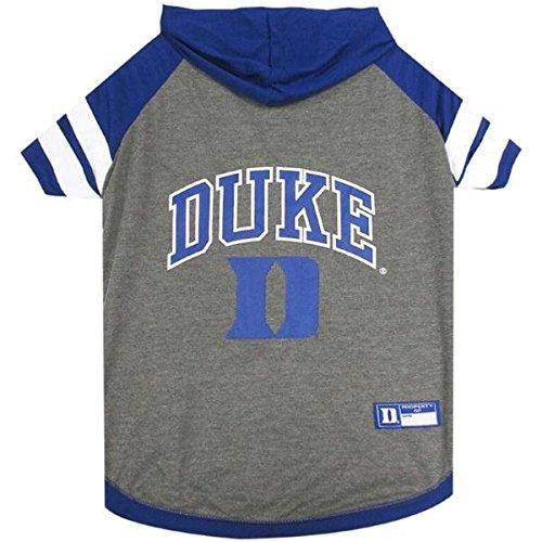 Duke Blue Devils Pet Hoodie T-Shirt - X-Small by Pet Care Preferred