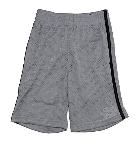 - Champion Boys Authentic Athletic Mesh Shorts, Silverstone (10/12)