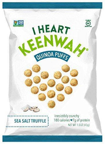 Quinoa Puffs, Sea Salt Truffle, 1.5oz, Vegan, Gluten-Free (Pack of 6) Review