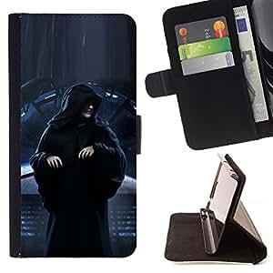 KingStore / Leather Etui en cuir / Samsung Galaxy S3 MINI 8190 / Darth Señor