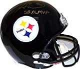 Hines Ward Autographed Pittsburgh Steelers Black Full-Size Helmet - JSA COA