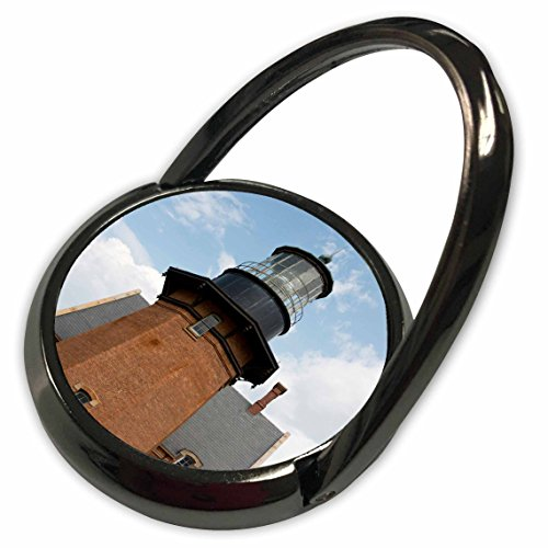 3dRose Danita Delimont - Cindy Hopkins - Lighthouses - USA, Rhode Island, Block Island, Mohegan Bluffs, Southeast Lighthouse. - Phone Ring (phr_190226_1) ()