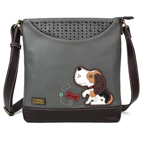 Chala Sweet Messenger Tote Bag (Dog Gen II - Gray)