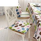 Simple modern sponge cushion cushion/ dining chair cushion/ Zipper washable upholstery-A 40x40cm(16x16inch)