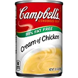 Campbell's 98% Fat Free Condensed Soup, Cream of Chicken, 10.5 Ounce (Pack of 24) Review
