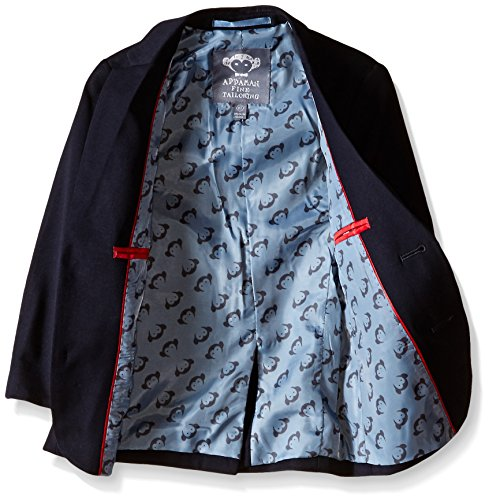 Appaman Little Boys' Core Two Piece Classic Mod Suit, Navy, 7 by Appaman (Image #2)