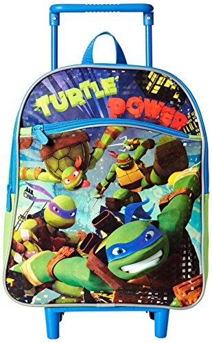 Nickelodeon Boys' Teenage Mutant Ninja Turtles 12 inch Rolling Backpack,...