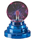 : Plasma Ball Lamp Dancing Bands of Light Electrostatic