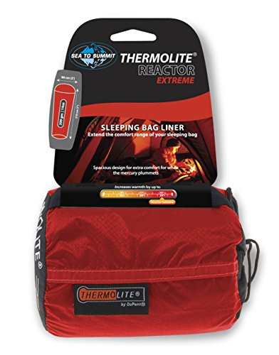 Dry Bag Liner (Sea to Summit - Reactor Extreme - Thermolite Mummy Liner, One Size, Red)