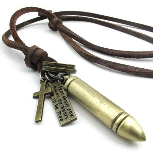 KONOV Vintage Pendant Adjustable Necklace