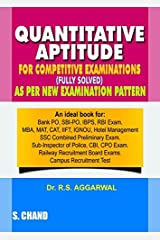 Quantitative Aptitude for Competitive Examinations (Old Edition) Paperback