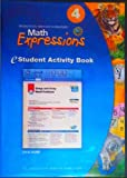 Math Expressions: eStudent Activity Book CD-ROM Grade 4 2009