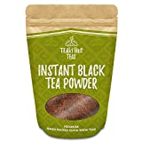 TEAki Hut Instant Black Tea Powder 4oz (192 Servings) | 100% Pure Tea | No Fillers, Additives or Artificial Ingredients of Any Kind