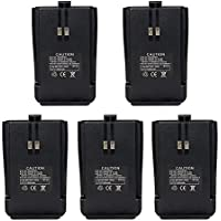 Retevis RT21 Two Way Radio Battery 1300mAh Li-ion Rechargeable Battery for Retevis RT21 Walkie Talkies (5 Pack)