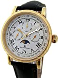 "Eric Edelhausen ""Calypso"" Men's Full Calendar with Moon Phase Watch"