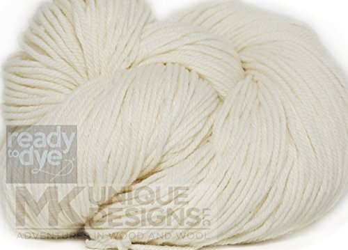 Undyed Ready to Dye Super Wash DK Weight (Natural Yarn Dyes)