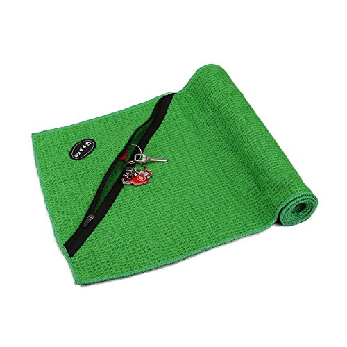 Life Fitness Towel: WINHI Fitness Towel With Zipper Pocket Holds Keys Or Card
