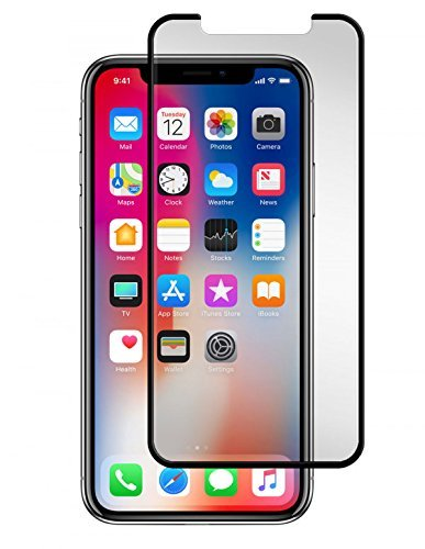 Gadget Guard Black Ice Cornice Curved Edition Tempered Glass Screen Guard For Apple IPhone X - Clear by Gadget Guard