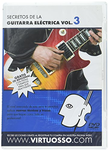 Virtuosso Electric Guitar Method Vol.3 (Curso De Guitarra Elctrica Vol.3) SPANISH ONLY