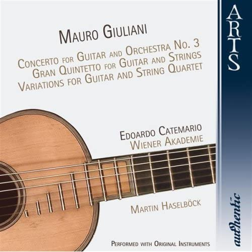 For Guitar And Strings In C Major Op. 65: I. Introduzione (Giuliani