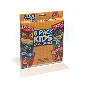 Bicycle Classic Kid's Card Games (6-Pack) by Bicycle