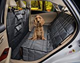 Homeyone Total Coverage Waterproof Dog Pet Travel Back Seat Cover Pad (Grey) For Sale