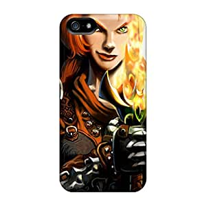 Phone Case Scratch-free Phone Case For Iphone 5/5s- Retail Packaging - Dungeon