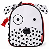 Skip Hop Zoo Lunchie Insulated Dalmatian Lunch Bag, White/Black