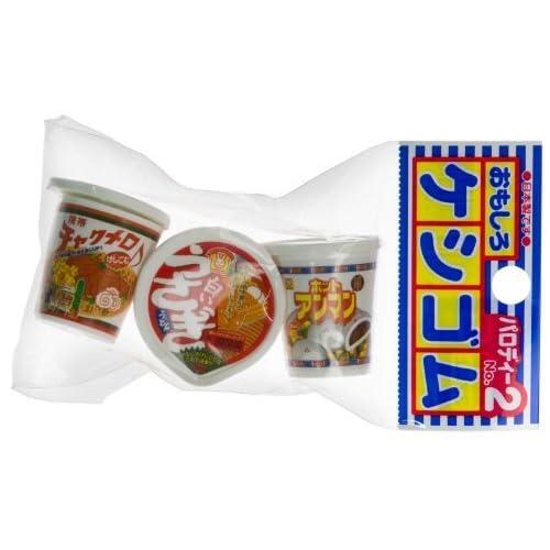 """Nouilles instantanées ~ 1.1 """"Mini-Eraser: collection PVC non-épicerie Eraser série (Japanese Import)"""