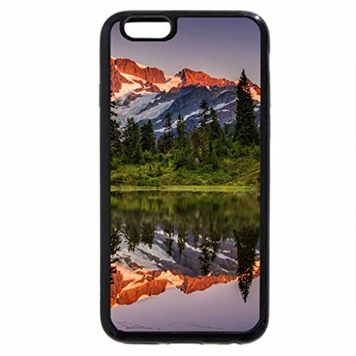 iPhone 6S / iPhone 6 Case (Black) Superb Lake Reflection