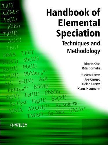 Handbook of Elemental Speciation: Techniques and Methodology Pdf