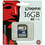 Kingston 16 GB Class 16 SDHC Tarjeta de memoria flash SD4/4GB