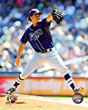 "Chris Archer Tampa Bay Rays 2015 MLB Action Photo (Size: 8"" x 10"")"