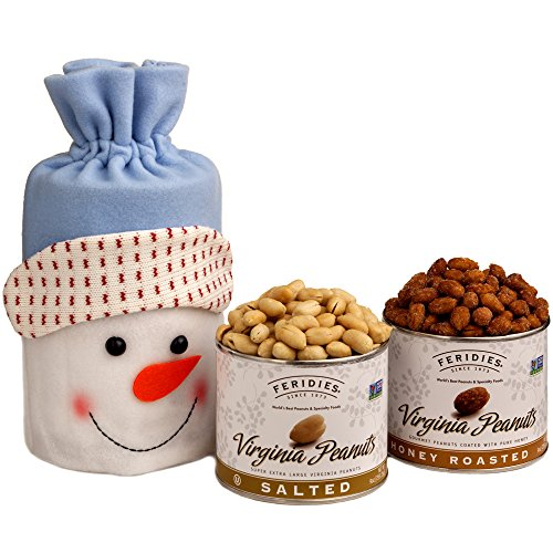 Snowman Snack Bag