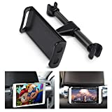 ECOEMO Car Headrest Mount, Adjustable iPad Stand Car Seat Tablet Holder,Cradle Replacement for iPad/Samsung Galaxy Tabs/Amazon Kindle Fire HD/Nintendo Switch,All 4 to 10.1 inch Devices and Tablets