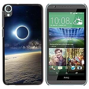 Be Good Phone Accessory // Dura Cáscara cubierta Protectora Caso Carcasa Funda de Protección para HTC Desire 820 // Space Planet Galaxy Stars 51