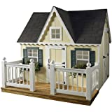 Suncast Victorian Playhouse with Porch and Railing, 6 by 8-Feet