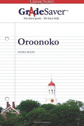 Oroonoko Essays  Gradesaver Oroonoko Aphra Behn