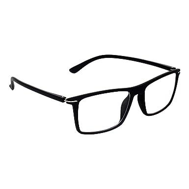 Zyaden Rectangular Plastic Men\'s Eyewear Frame(FRAME-423|Black ...