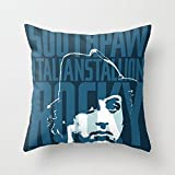My Honey Pillow Rocky Balboa Minimal Vector Film Poster Throw Pillow By Barrett Biggersfor Your Home