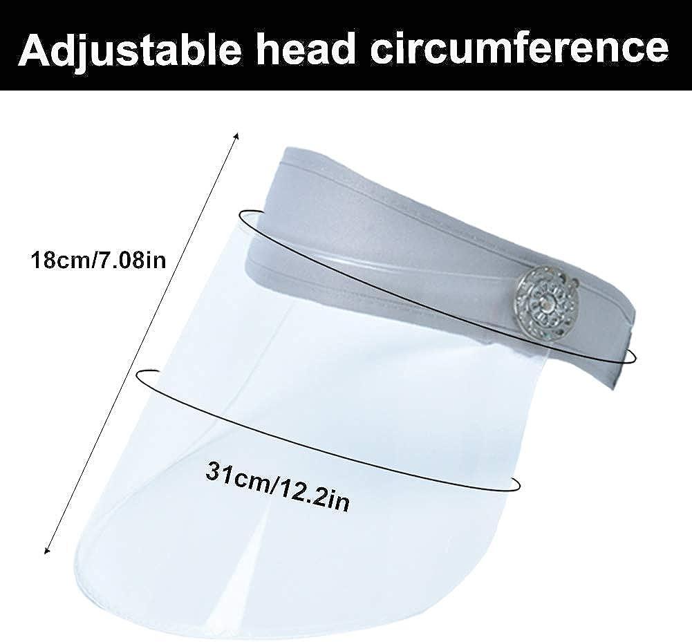 Safety Face Shield Adjustable Protective Face Visor Eye Head Full Protection Anti-Spitting Anti-Saliva Anti-Fog
