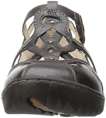 Earth Flat Spain Black Women's Jambu q0EIY
