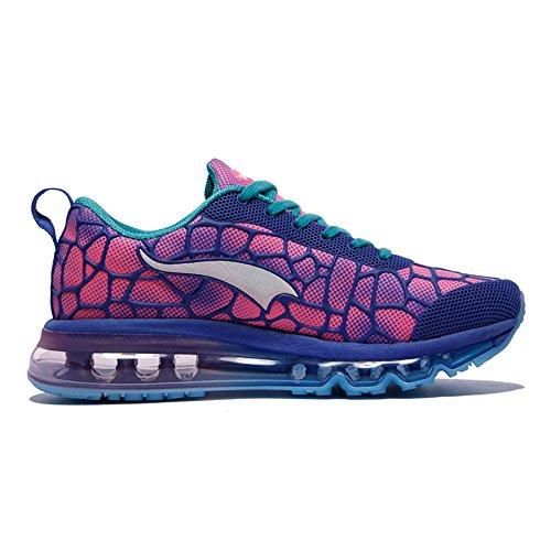 Hommes Adulte Marche Bleu Onemix Unisexe Air Baskets Rose Sneakers Femmes Respirantes Chaussures De Sport ZPfOPnd