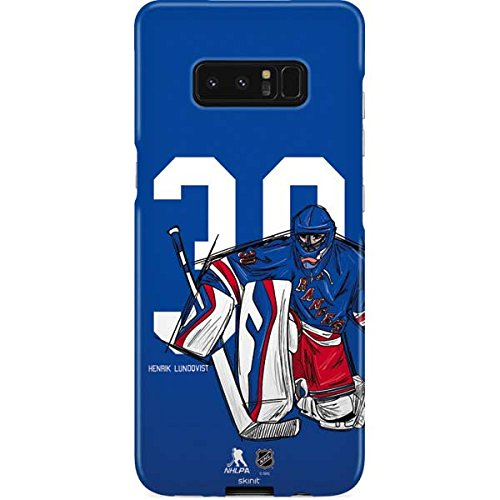 Amazon Com New York Rangers Galaxy Note 8 Case Henrik Lundqvist