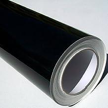 Self Adhesive Sticky Back Gloss Black Sign Vinyl 5m x 61cm Roll by Metamark