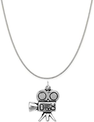 Raposa Elegance Sterling Silver Doggie Bone Charm Necklace 16, 18 or 20 Chain