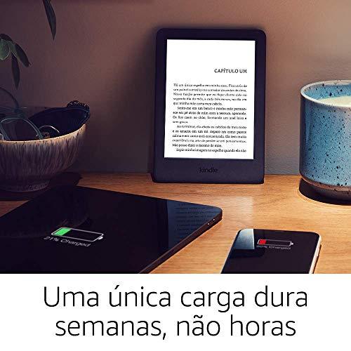 Kindle 10a. geração com iluminação embutida – Cor Preta